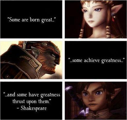 quotes link shakespeare Ganondorf zelda - 7155716864