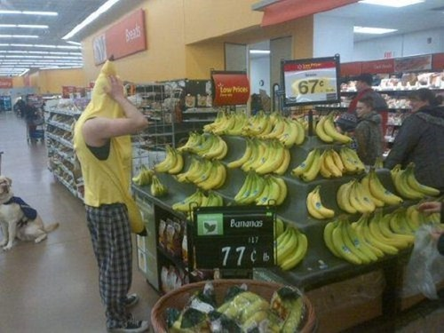 bananas grocery stores costume - 7155734784