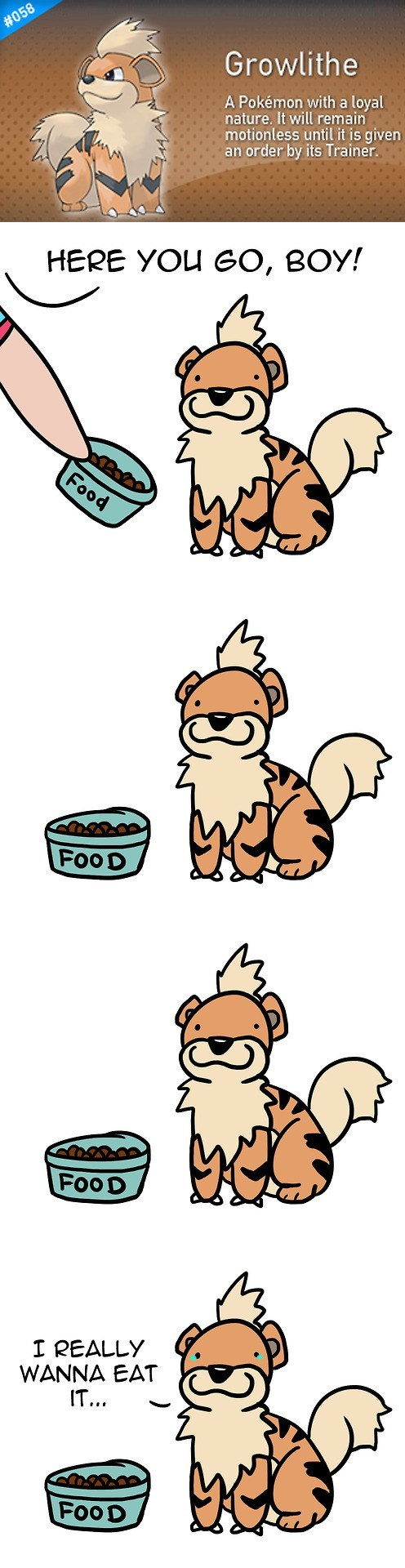 pokedex Pokémon growlithe comics - 7155864320