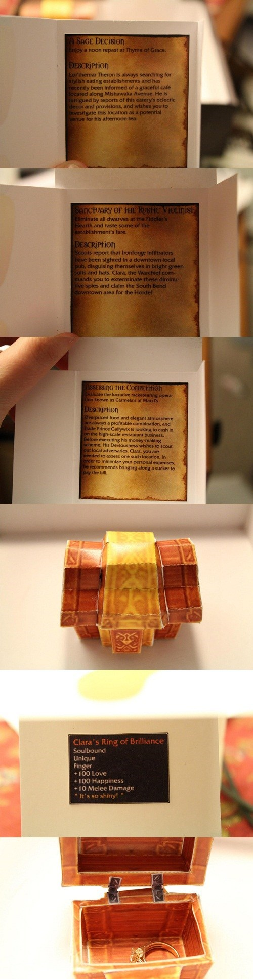 world of warcraft IRL quests couples engagement video games marriages - 7155908864