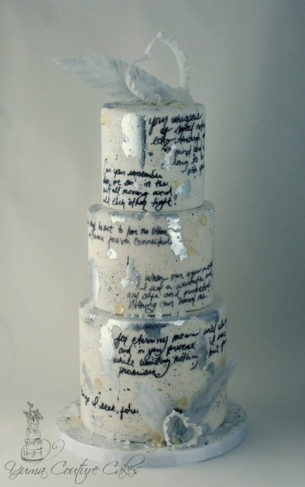 love letters wedding cakes win - 7155931392