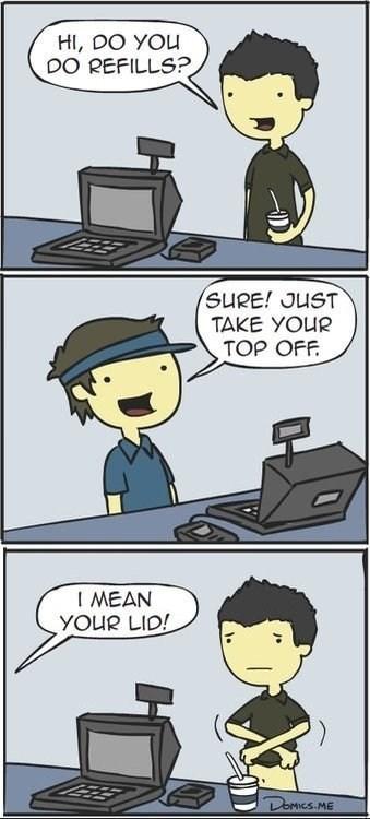 refills comics fast food - 7155971328