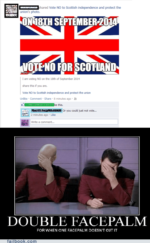 great britain scotland voting scottish independence