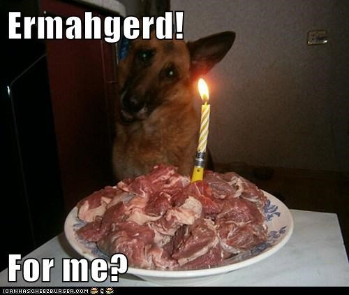 Ermahgerd! For me?