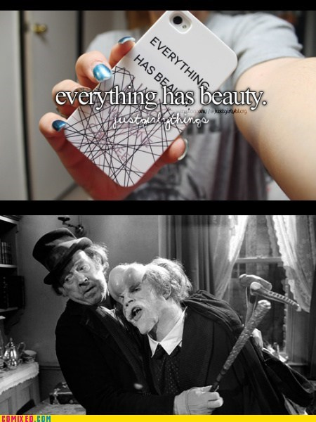 just girly things,elephant man,beauty