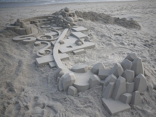 sand castle design beach - 7156213504