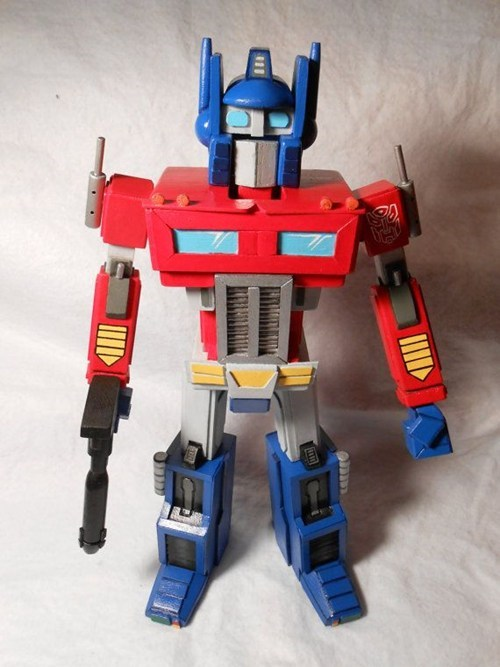 transformers nerdgasm optimus prime nutcracker - 7156225536