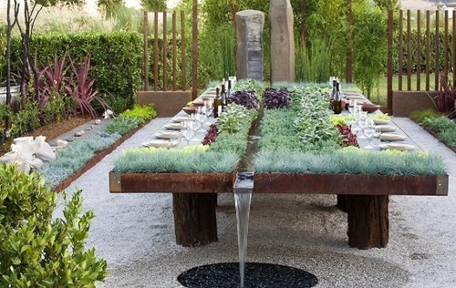 garden,table,design,cute