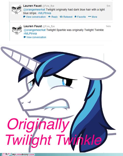 lauren faust twitter shining armor twilight twinkle - 7156622336