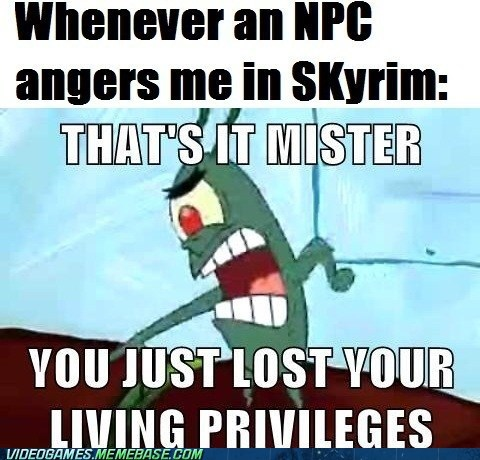 SpongeBob SquarePants NPCs Skyrim - 7156838400
