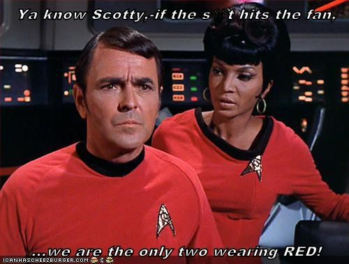 red shirts,Star Trek