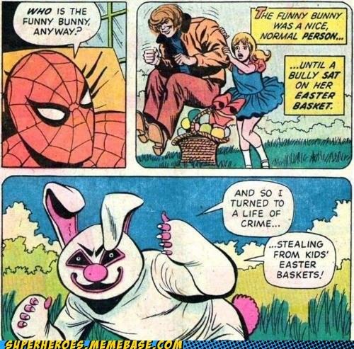 wtf Spider-Man bunny - 7157209088