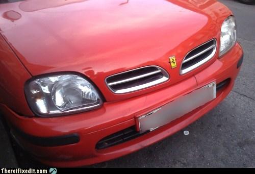 nissan cars ferrari hood ornaments - 7157763584