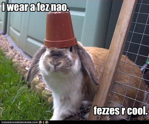 FEZ doctor who rabbit - 7157778688