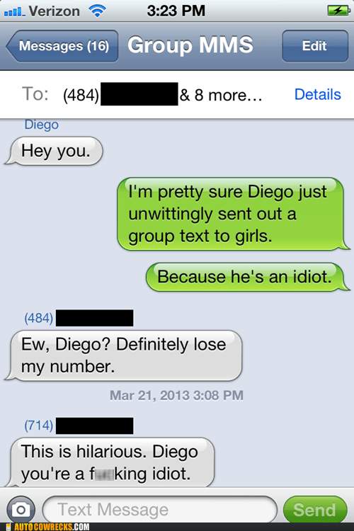 iPhones idiot diego