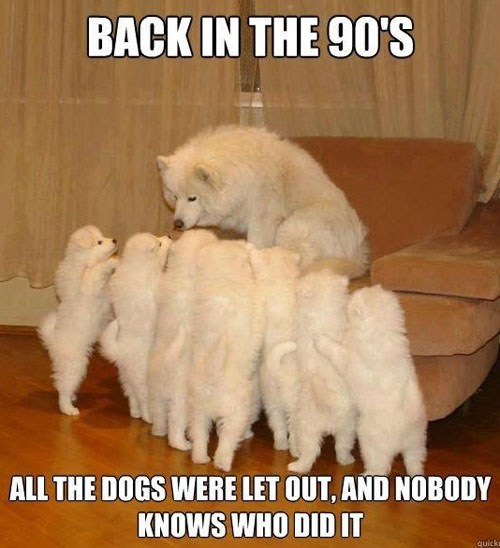 who let the dogs out 90s Story Time - 7158375168
