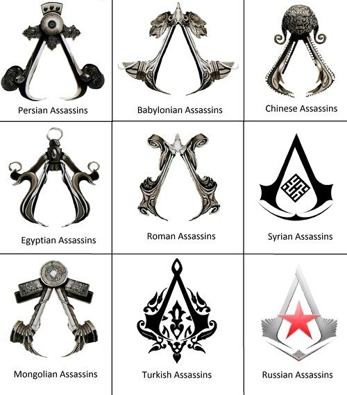 assassins assassins creed symbols - 7158543872