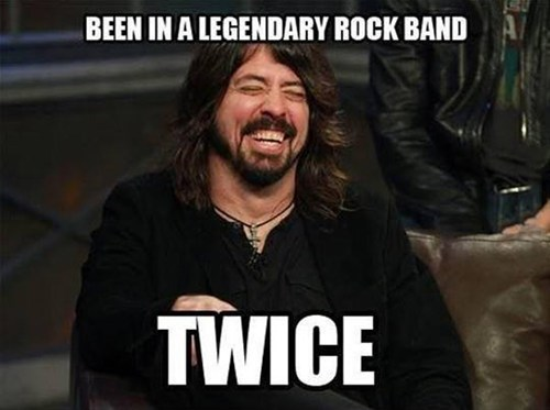u mad,Dave Grohl