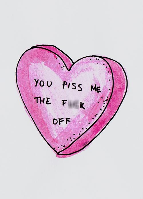 romantic you suck hearts - 7158804224
