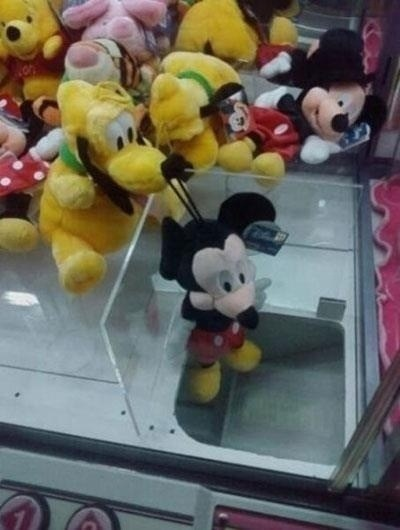 claw machine,Plush,mickey mouse