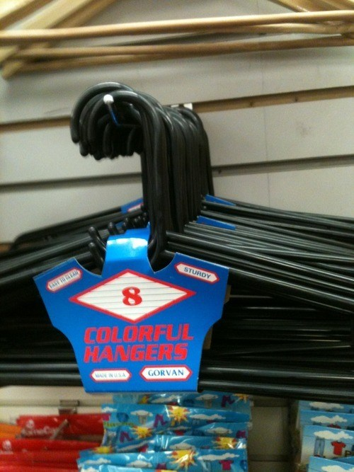labels hangers false advertising - 7159215872