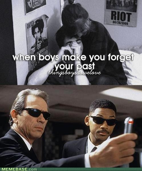 forgetting,men in black,things boys do
