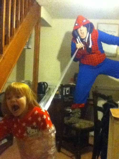 Spider-Man parenting babysitting