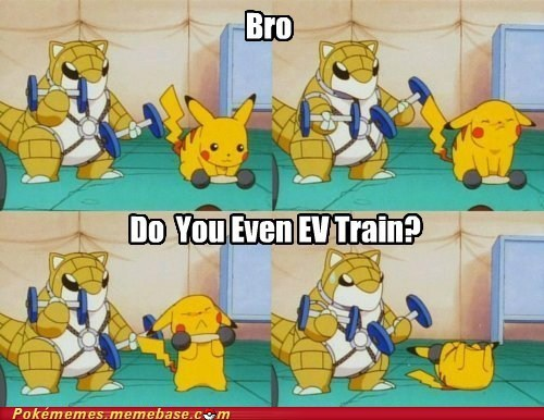 EV train,sandshrew,anime