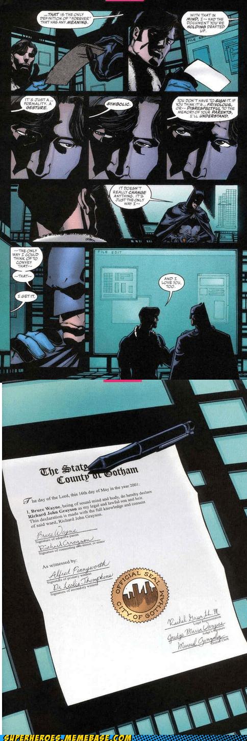 Richard Grayson robin off the page batman - 7160142592