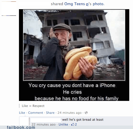 sharebait,First World Problems,bread
