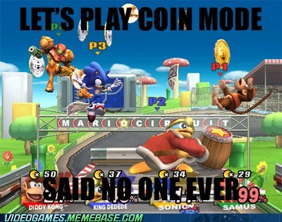 coin matches super smash bros video games nintendo - 7160477696