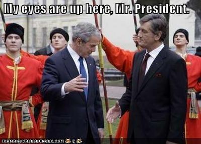 george w bush president Republicans ukraine Viktor Yushchenko - 716078848