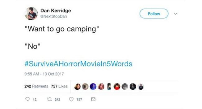 horror movies horror twitter tweets funny tweets funny twitter - 7161093