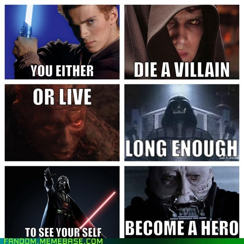quotes star wars villains batman