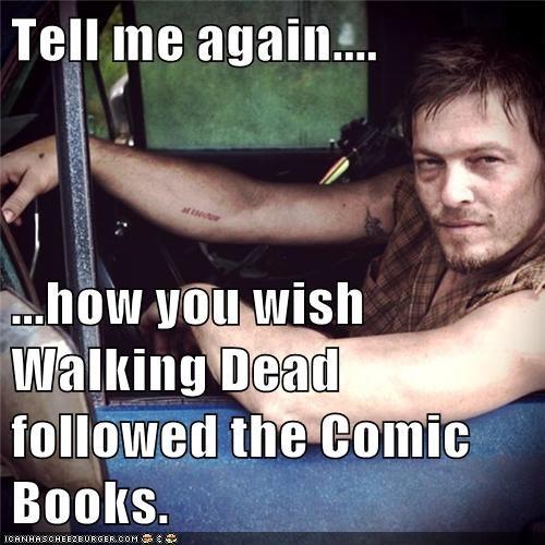 comics TV The Walking Dead - 7161939456