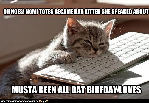 BIRFDAY KITTEH