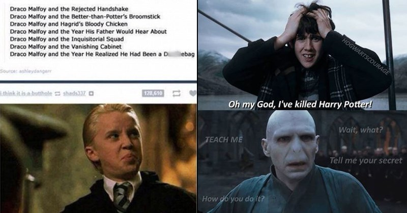 Harry Potter memes and funny pictures about the movie series
