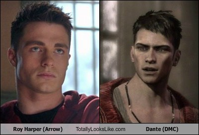 devil may cry totally looks like roy harper dante - 7163141376