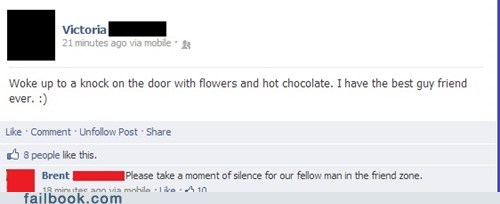 friendzone,relationships,flowers,chocolate,dating,failbook,g rated