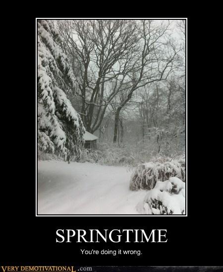 spring missouri snow doing it wrong - 7163335936