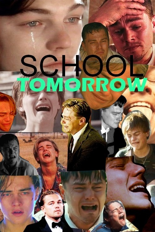 school sunday crying monday - 7163447040