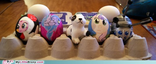 easter Bronies IRL eggs - 7163863040
