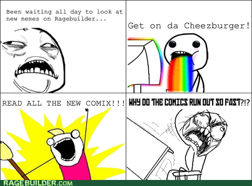 sweet jesus,all the things,rainbow guy,Rage Comics