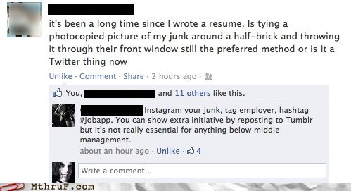 then vs now,facebook,resumes