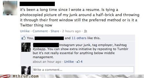 facebook resumes - 7164596480