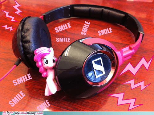 IRL pinkie pie headphones - 7164835584