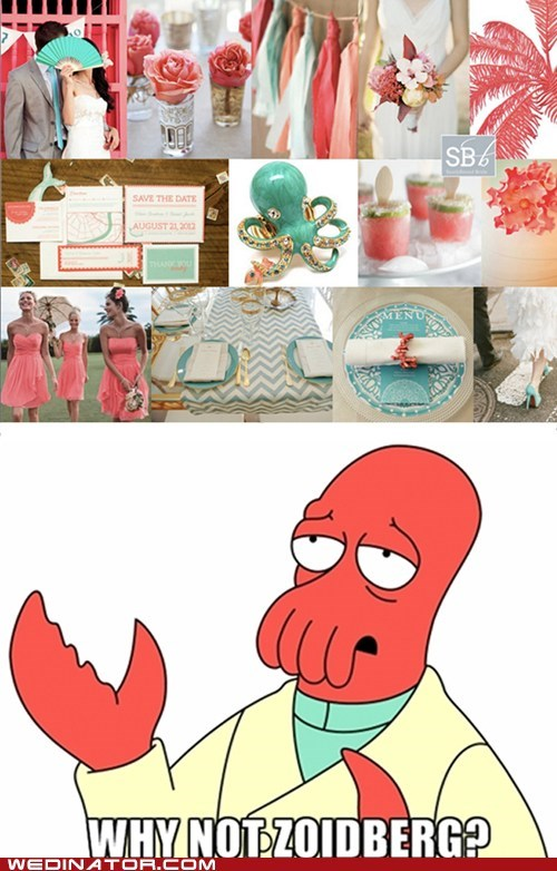 coral color schemes Zoidberg - 7164872448