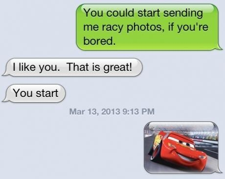 iPhones,cars,too literal,racy photos