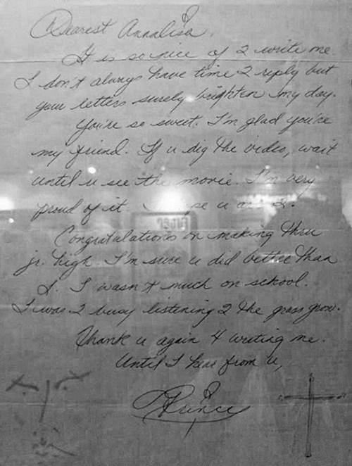 letters,prince,fan mail