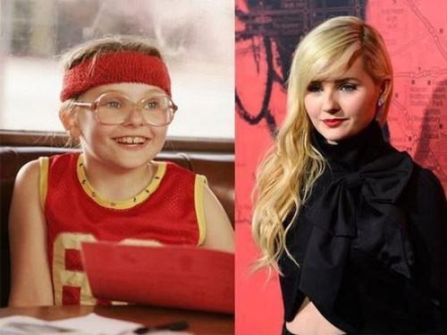 little miss sunshine Then And Now abigail breslin - 7165449984